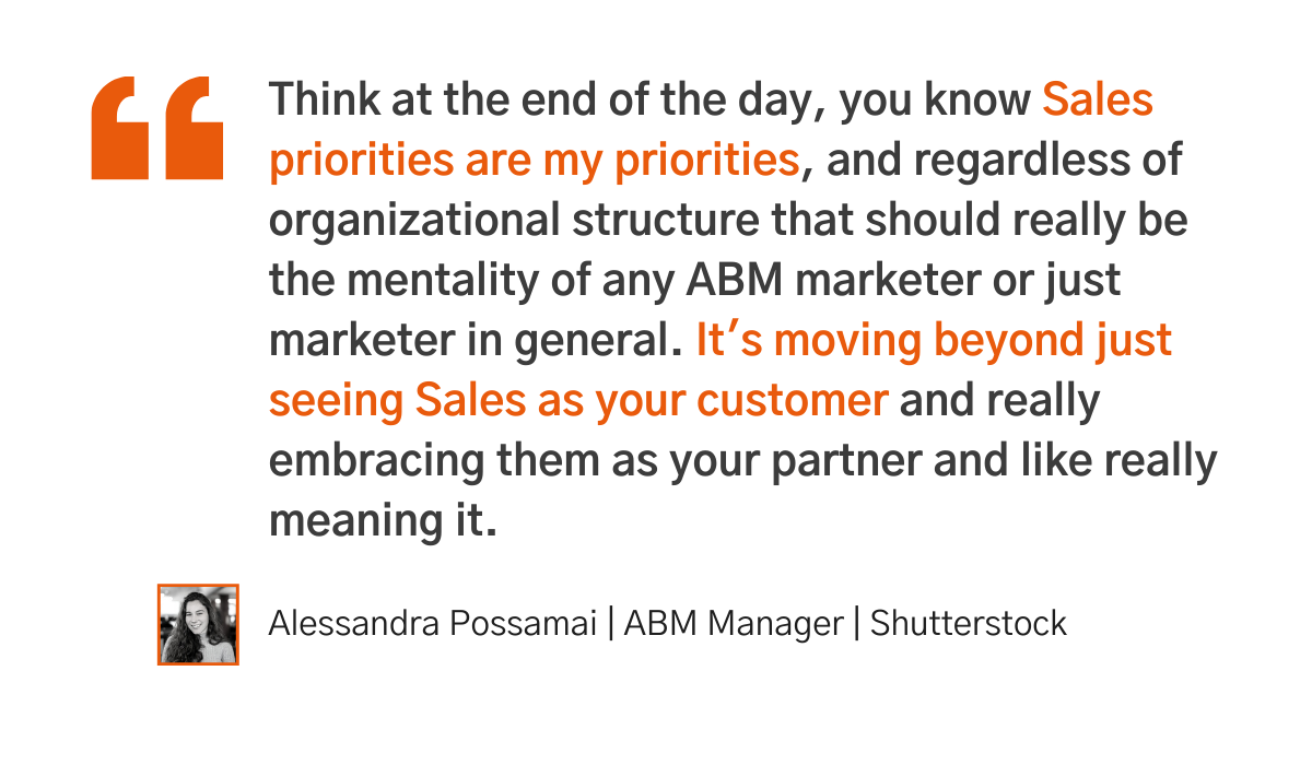 7 tips for implementing sales enablement - Degreed quote 3